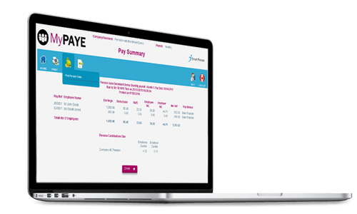 MyPaye & Smart Pension API