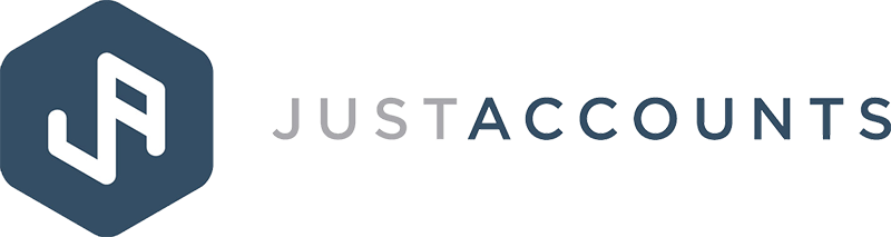 Justaccounts colour logo